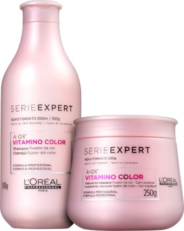 L'Oréal Professionnel Expert Vitamino Color A-OX Shampoo 300ml + Máscara 250g