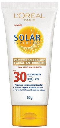 L'ORÉAL PARIS Solar Expertise Antirrugas FPS30 Protetor Solar Facial 50g