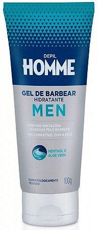 Depil Homme Gel de Barbear Hidratante Men 100g