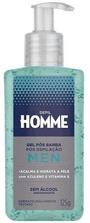DEPIL HOMME Gel Pós-barba e Pós-depilação Men 125g
