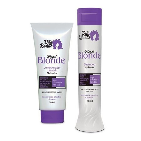 RITA BONITA Angel Blonde Shampoo 300ml + Condicionador Leave-in 200ml