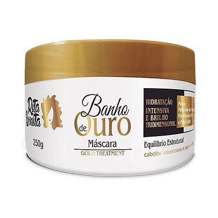 RITA BONITA Banho de Ouro Máscara Gold Treatment 250g