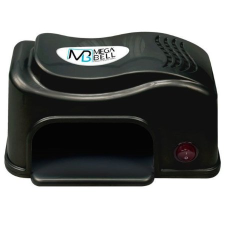 MEGA BELL Cabine UV Secador de Unhas Nails Matic Compact Preto 127V (134)