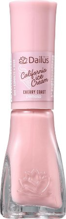 DAILUS Esmalte Vegano California Ice Cream Cremoso Cherry Coast