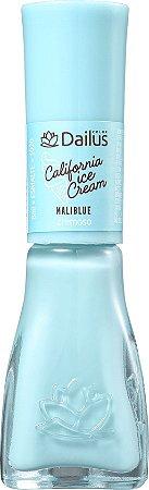 DAILUS Esmalte Coleção California Ice Cream Vegan Cremoso MaliBlue