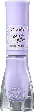 DAILUS Esmalte Vegano California Ice Cream  Cremoso Purple Springs