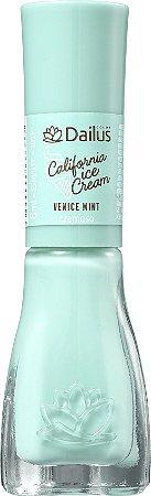 DAILUS Esmalte Coleção California Ice Cream Vegan Cremoso Venice Mint