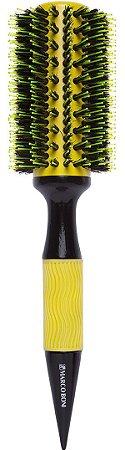 MARCO BONI Escova Profissional para Cabelo Thermal Ceramic Yellow Basic 70mm (7334)