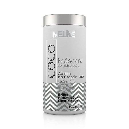 MELIVE Coco Máscara Capilar de Hidratação 1Kg