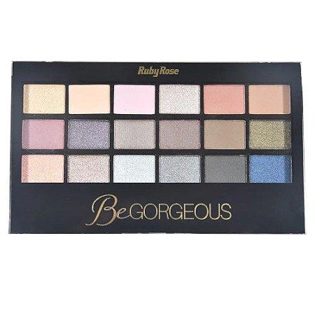 RUBY ROSE Paleta de Sombras Be Gorgeous HB-9916