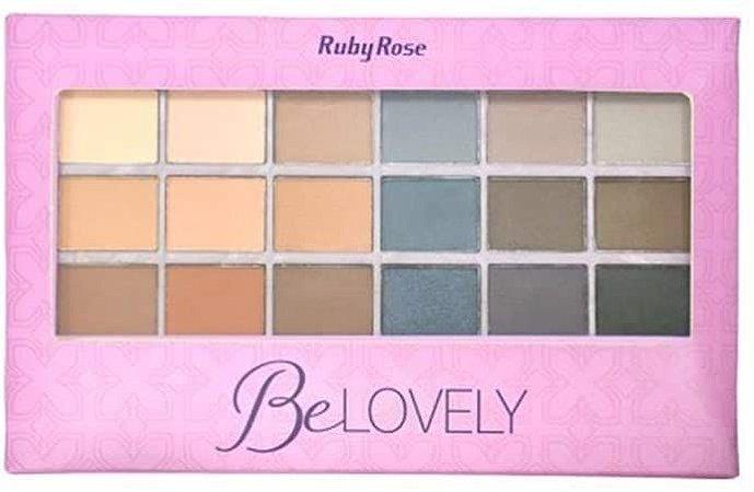 RUBY ROSE Paleta de Sombras Be Lovely HB-9932