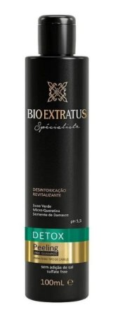 BIO EXTRATUS Spécialiste Detox Pré Shampoo Peeling 100ml