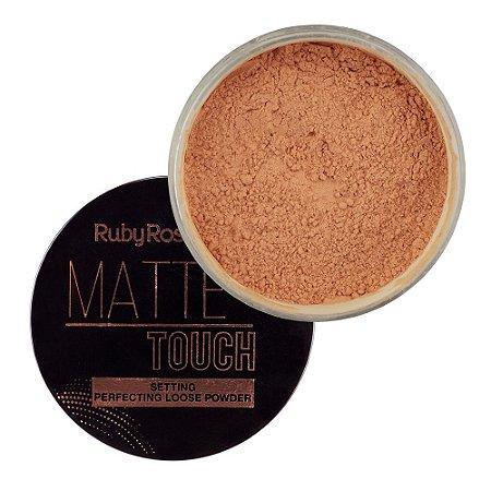 RUBY ROSE Pó Facial Matte Touch HB-7222 03 Tan Neutral