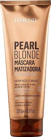 AMEND Pearl Blonde Máscara Capilar Matizadora 250g