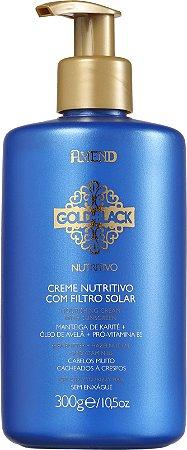 AMEND Gold Black Nutritivo Creme Nutritivo com Filtro Solar 300g