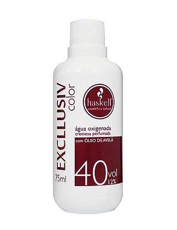 HASKELL Excllusiv Color Água Oxigenada Cremosa Perfumada 40 volumes 12% 75ml