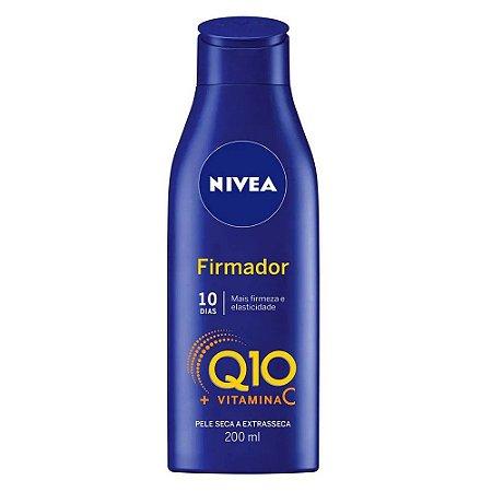 NIVEA Loção Hidratante Firmador Q10 Vitamina C para Pele Seca a Extrasseca 200ml