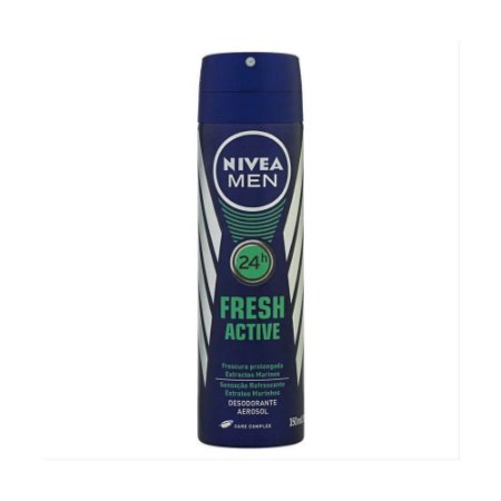 NIVEA Men Desodorante Aerosol Fresh Active 150ml