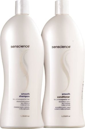 SENSCIENCE Smooth Kit Shampoo + Condicionador 1l