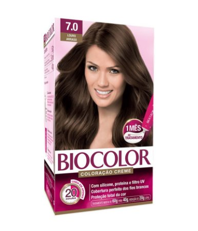 BIOCOLOR Coloração Permanente Kit 7.0 Louro Arraso