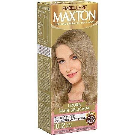 MAXTON Coloração Permanente Kit 10.12 Louro Nude