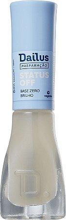DAILUS Base Zero Brilho Vegano Preparação Status Off