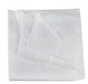 SANTA CLARA Lençol para Maca Descartável Luxo Sem Elástico em TNT Branco Ref.1041 5Un (9203)