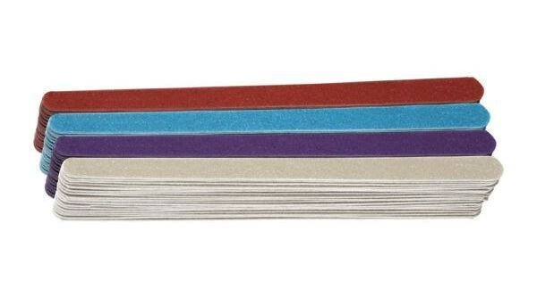 SANTA CLARA Lixa para Unhas Colorida Especial Grande cores sortidas 144un (102)