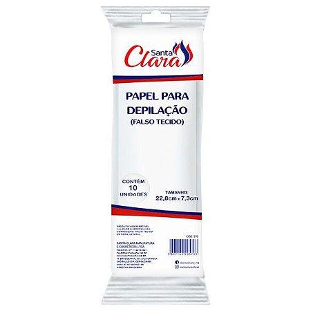 SANTA CLARA Papel para Depilação (falso tecido) 10un (570)