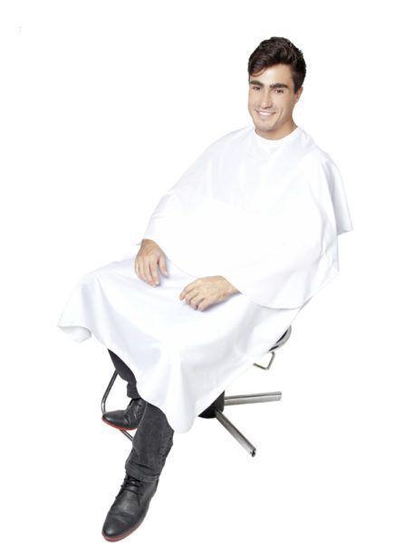 SANTA CLARA Capa para Corte Com Velcro Modelo Conforto em Nylon Ref.004 Branco (9720)
