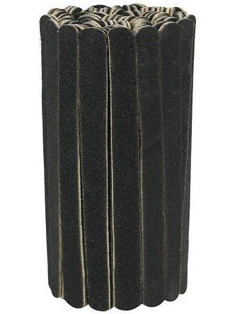 SANTA CLARA Lixa para Unhas Preta Mini 100un (4131)