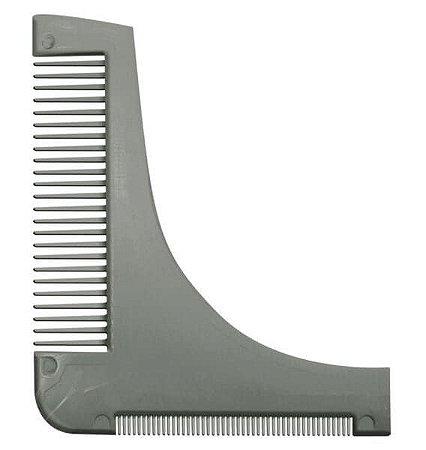 SANTA CLARA Pente Modelador e Alinhador para Barba Prata (4437)