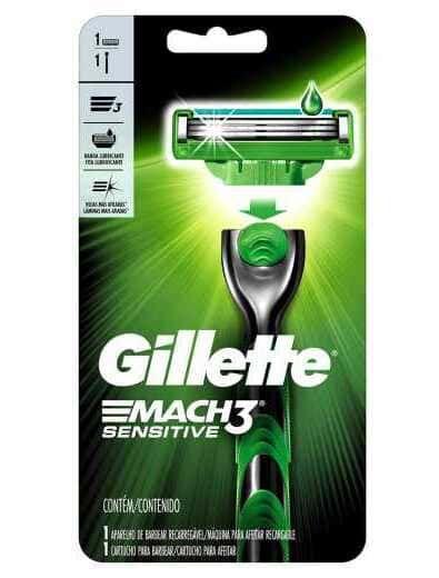 GILLETTE Aparelho de Barbear Match3 Sensitive