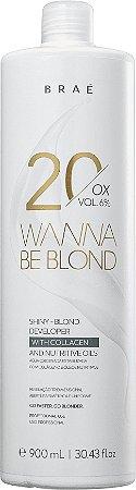 BRAÉ Wanna Be Blond Água Oxigenada 20 Volumes 900ml