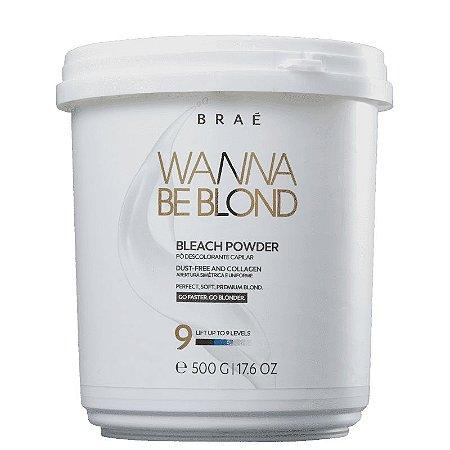 BRAÉ Wanna Be Blond Pó Descolorante Beach Powder 900ml