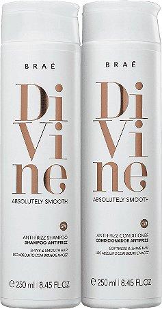 BRAÉ Divine Kit Shampoo + Condicionador Antifrizz 250ml