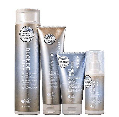 JOICO Blonde Life Kit Shampoo 300ml + Condicionador 250ml + Máscara Capilar + Leave-in 150ml