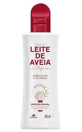 DAVENE Leite de Aveia Clássico Perfume Original para Todos os Tipos de Pele 180ml