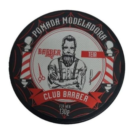 CLUB BARBER Pomada Modeladora For Men Efeito Teia 130g