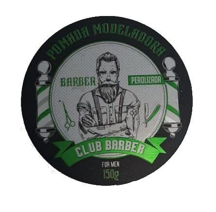 CLUB BARBER Pomada For Men Perolizada 150g