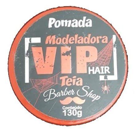 VIP HAIR Pomada Modeladora Efeito Teia 130g