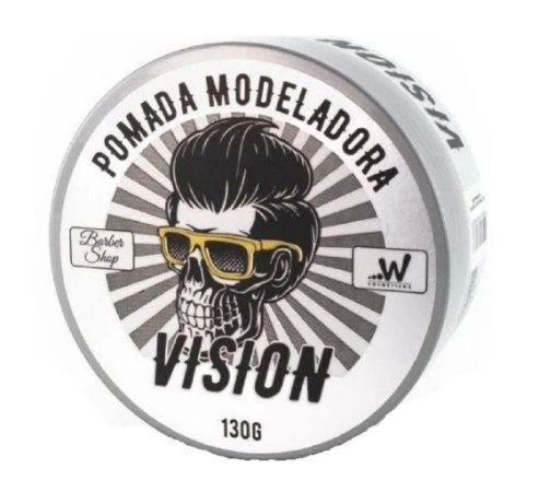 VISION Pomada Modeladora Barber Shop Incolor 130g