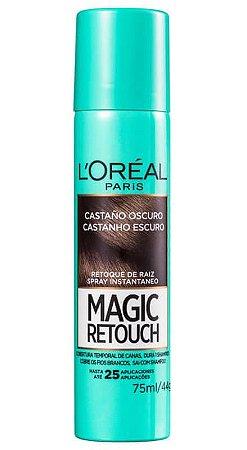 L'ORÉAL Paris Retoque de Raiz Magic Retouch Castanho Escuro Spray 75ml