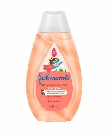 JOHNSON'S Cachos dos Sonhos Shampoo 200ml