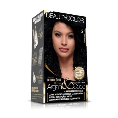 BEAUTYCOLOR Coloração Permanente Kit 2.11 Preto Azulado