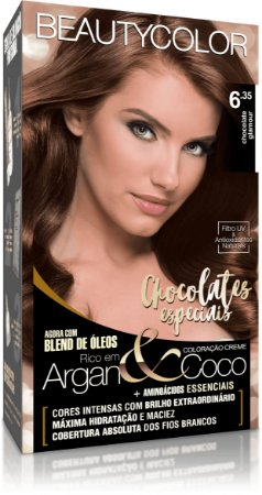 BEAUTYCOLOR Coloração Permanente Kit 6.35 Chocolate Glamour