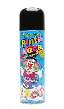 PINTA LOCA Spray para Tintura Decorativa do Cabelo Preto 150ml