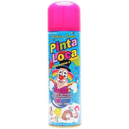 PINTA LOCA Spray para Tintura Decorativa do Cabelo Rosa Flash 150ml