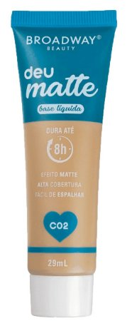 BROADWAY Base Líquida Deu Matte C02 29ml