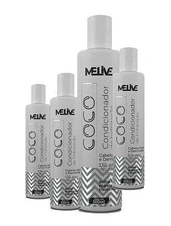 MELIVE Coco Kit Condicionador 300ml 12un